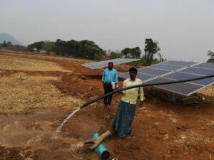 Solar Pumping Project by Arraycom