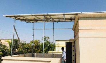 Roof Top Solar Installation by Arraycom