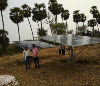 Solar Pumping System Installation